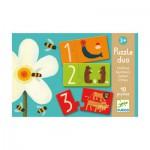 Puzzle 10 x 2 pièces - Duo chiffres