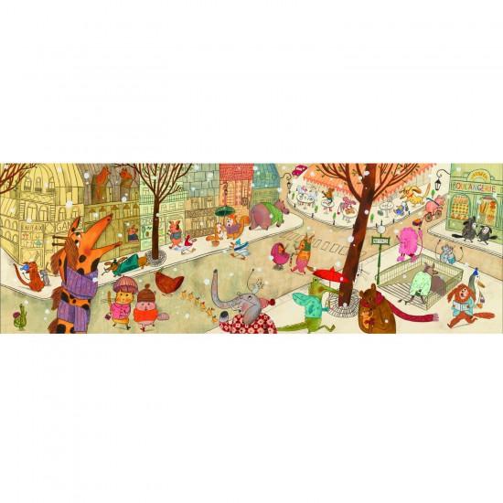 Puzzle 100 pièces - Gallery : Paris - Djeco-07637