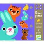 Puzzle 18 pièces -  4 puzzles : Dans la ferme