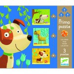 Puzzle 19 pièces - 3 puzzles évolutifs : Chiens