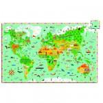 Puzzle 200 pièces - Puzzle observation : Les monuments du monde