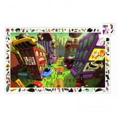 Puzzle 200 pièces : Ville du futur