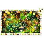 Puzzle 35 pièces - Poster et jeu d'observation : La forêt en fête