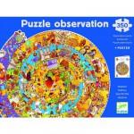 Puzzle 350 pièces rond - Puzzle observation : Histoire
