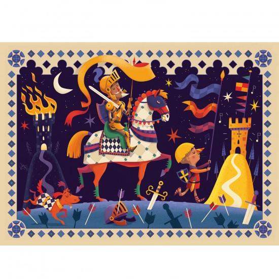 Puzzle 36 pièces : Don Quichotte - Djeco-DJ07235