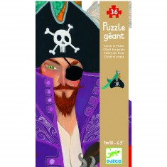 Puzzle 36 pièces géant - Elliott le Pirate