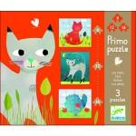 Puzzle 37 pièces - 3 puzzles évolutifs : Chats