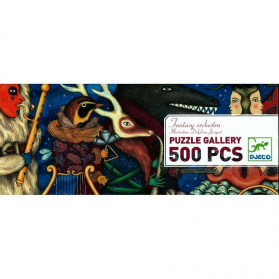 Puzzle 500 pièces - Gallery : Envolée lyrique - Djeco-07626