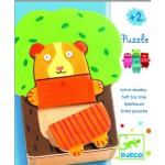 Puzzle apprentissage 15 pièces en bois : Arbre doudou