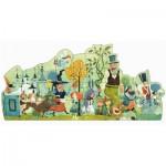 Puzzle géant Djeco 36 pièces : Parade des contes