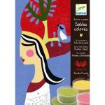 Sables colorés : Les reines