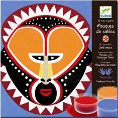 Sables colorés : Masques