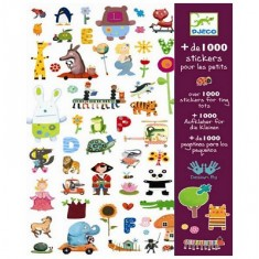Stickers 1000 stickers pour petits