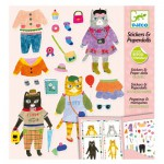 Stickers & Papers Dolls : Mes Copains les Chats