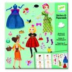 Stickers et Paper dolls : Trop mode