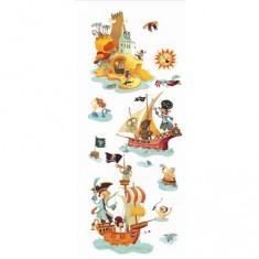 Stickers L'île aux trésors : Grand modèle