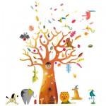 Stickers muraux Baobab pour chambre Ulysse
