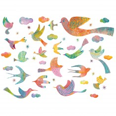 Stickers muraux Bling Bling Birds