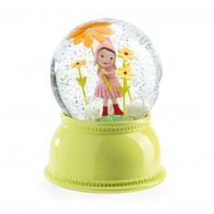 Veilleuse boule neigeuse : Petite Fille
