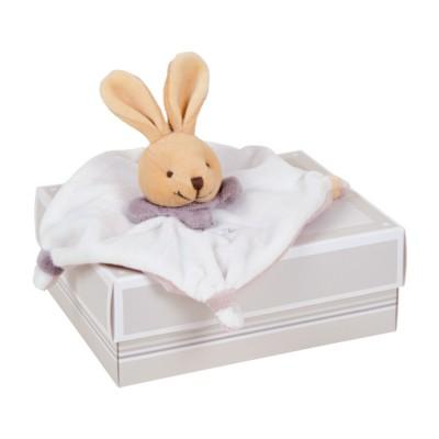 mini doudou acidul lapin taupe jeux et jouets doudou et compagnie avenue des jeux. Black Bedroom Furniture Sets. Home Design Ideas