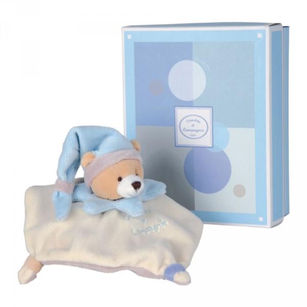 mini doudou acidul ours bleu jeux et jouets doudou et compagnie avenue des jeux. Black Bedroom Furniture Sets. Home Design Ideas