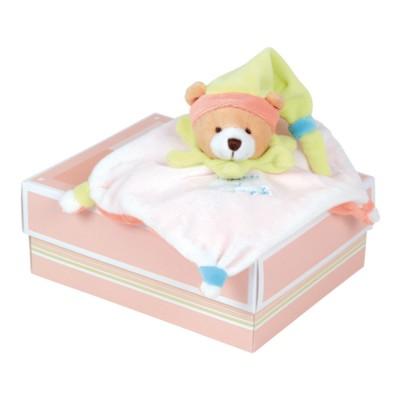 mini doudou acidul ours multicolore jeux et jouets doudou et compagnie avenue des jeux. Black Bedroom Furniture Sets. Home Design Ideas
