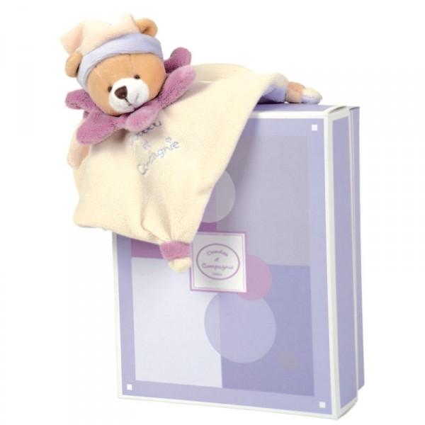 mini doudou acidul ours violet jeux et jouets doudou et compagnie avenue des jeux. Black Bedroom Furniture Sets. Home Design Ideas
