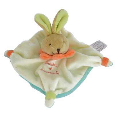 mini doudou acidul lapin vert jeux et jouets doudou et compagnie avenue des jeux. Black Bedroom Furniture Sets. Home Design Ideas