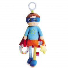 Peluche d'activité : Poupée garçon super-héros
