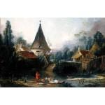 Puzzle 1000 pièces : François Boucher : Paysage près de Beauvais