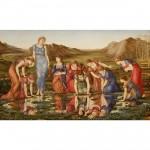Puzzle 1000 pièces : Edward Burne-Jones : Le miroir de Vénus