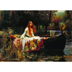 Puzzle 1000 pièces : John William Waterhouse : La Dame de Shalott