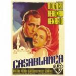 Poster vintage : Casablanca