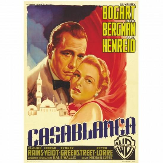 Poster vintage : Casablanca - DToys-67579PS11