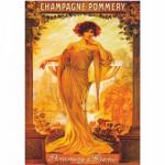 Poster vintage : Champagne Pommery