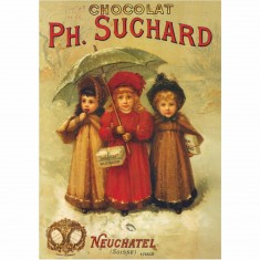 Poster vintage : Chocolats Ph. Suchard