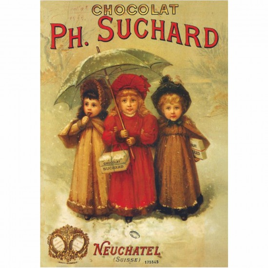 Poster vintage : Chocolats Ph. Suchard - DToys-67579PS04