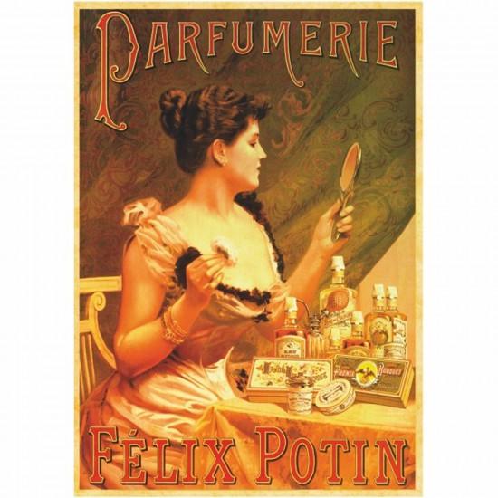 Poster vintage : Parfumerie Félix Potin - DToys-67579PS07
