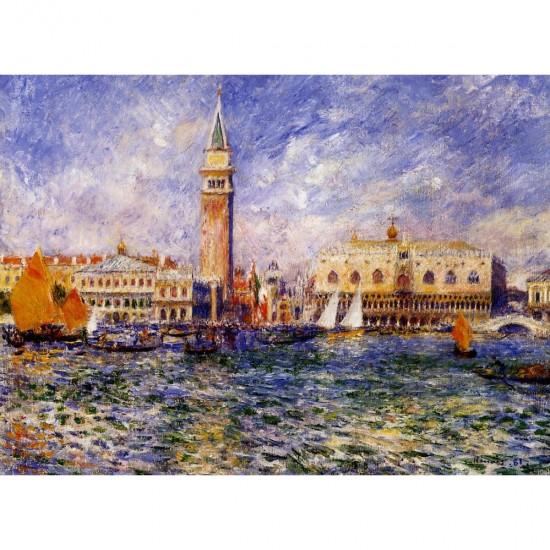 Puzzle 1000 pièce : Renoir : The Doge's Palace - DToys-66909RE08-2