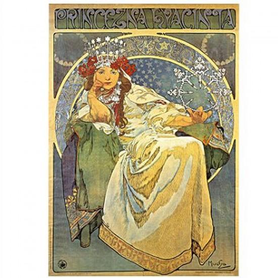 Puzzle 1000 pièces - Alphonse Mucha : Princesse Hyacinthe - Dtoys-66930MU03