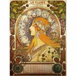 Puzzle 1000 pièces - Alphonse Mucha : Zodiaque