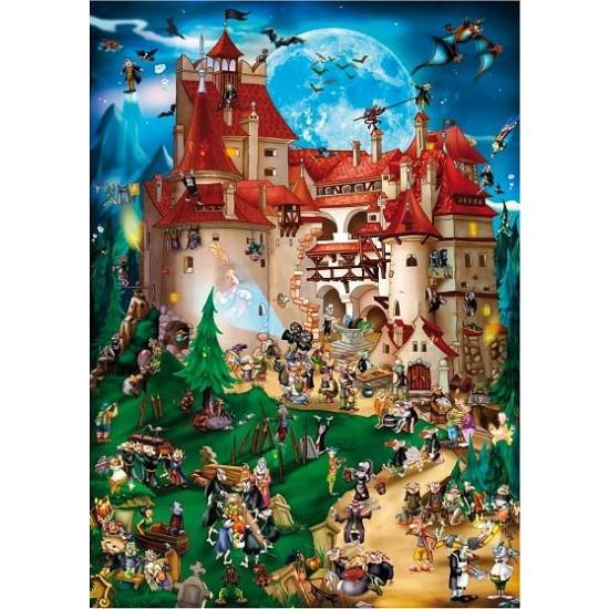 Puzzle 1000 pièces - Cartoon Collection : Vampire party - Dtoys-61218CC08