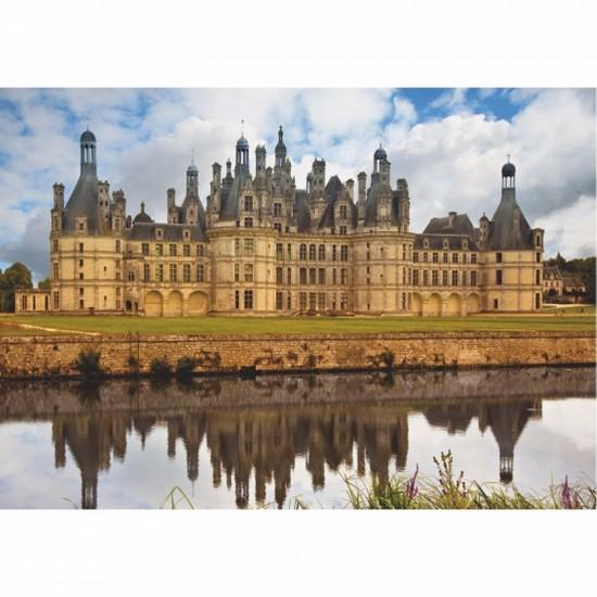 Puzzle 1000 pièces - Châteaux de France : Château de Chambord - Dtoys-67562FC01