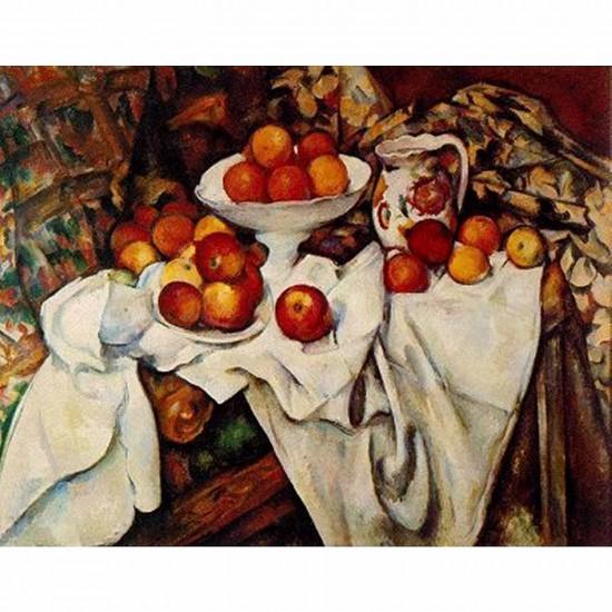Puzzle 1000 pièces - Impressionnisme - Cézanne : Pommes et Oranges - Dtoys-66961IM04