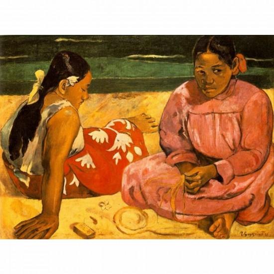 Puzzle 1000 pièces - Impressionnisme - Gauguin : Femmes sur la plage - Dtoys-66961IM05
