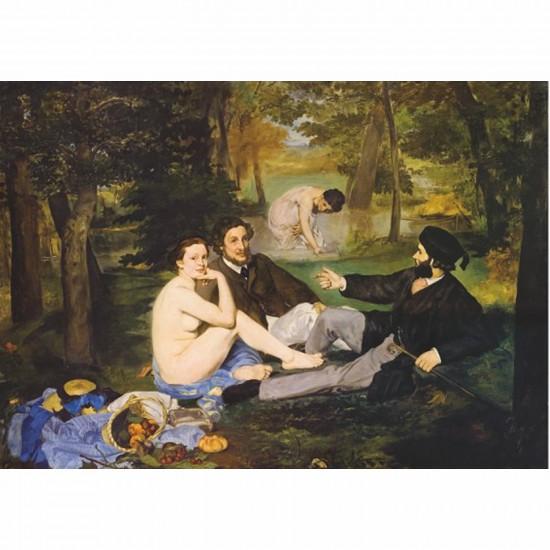 Puzzle 1000 pièces - Impressionnisme - Manet : Déjeuner sur l'herbe - DToys-66961IM09