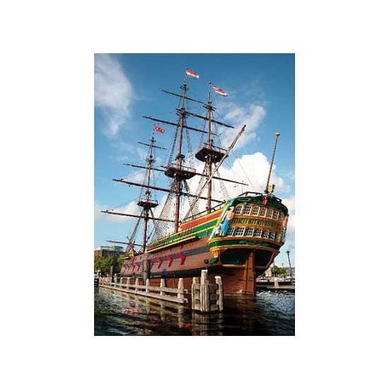 Puzzle 1000 pièces - Lieux célèbres : Amsterdam, Hollande - Dtoys-64288FP04