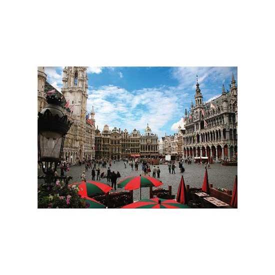 Puzzle 1000 pièces - Lieux célèbres : Bruxelles, Belgique - Dtoys-64288FP01