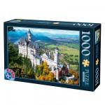 Puzzle 1000 pièces - Lieux célèbres : Château de Neuschwanstein, Allemagne
