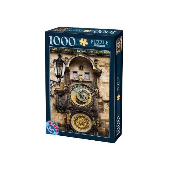 Puzzle 1000 pièces - Lieux célèbres : Prague, République tchèque - Dtoys-64288FP07